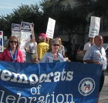 4th of July parade in Celebration Florida
